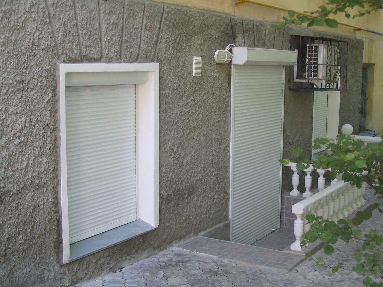 окна роллеты ворота двери